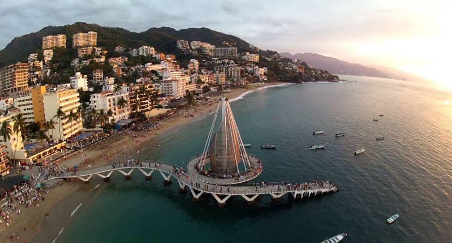New Pier on Los Muertos Beach